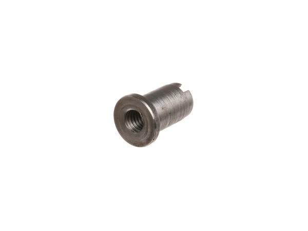 Schlitzmutter für Schalteinstellung, Getriebe - Simson S51, S70, S53, S83, SR50, SR80, KR51/2