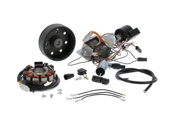 Set: Umrüstsatz VAPE, auf 12V, Magnete vergossen (ohne Batterie, Hupe und Leuchtmittel) - Simson SR4-2 Star, SR4-3 Sperber, SR4-4 Habicht