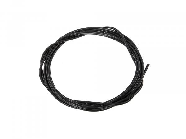 Bowden cable cover black Ø3,0mm (5 meters) - for MZ, AWO, IWL, EMW, RT