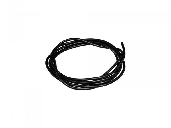 cable - black 0,75mm² automotive cable - 1m