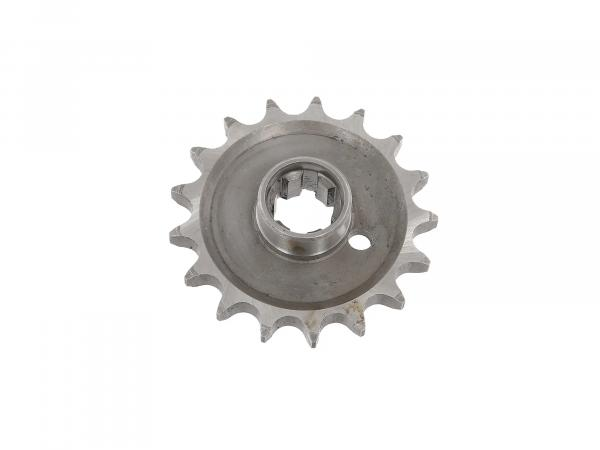 Drive pinion (small chain wheel) 17 tooth - MZ ETZ250, ETZ251, ETZ301, TS250/1