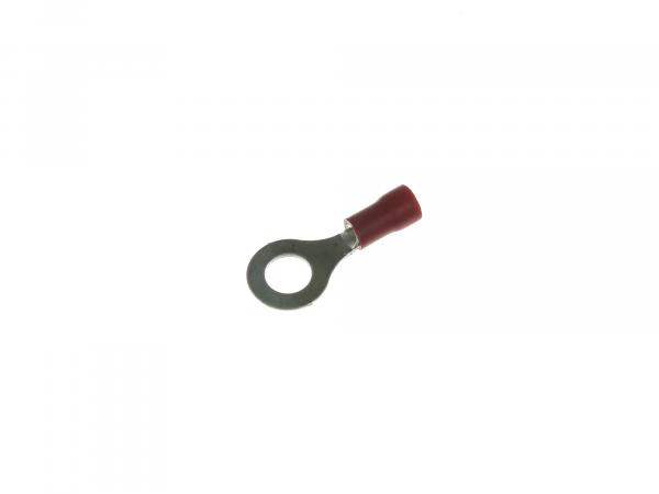 Cable lug - ring tongue ØM6 red insulated (0.5-1.0mm²)*