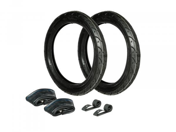 Set: 2x Reifen 2.75 x 16 Vee Rubber VRM 099R + 2x Schläuche + 2x Felgenband