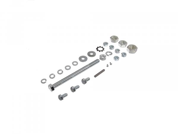 10016582 Set: Sechskantschrauben, Normteile für Rahmen-Fußbremse-Kippständer-Hinterradschwinge Schwalbe KR51/2 - Bild 1