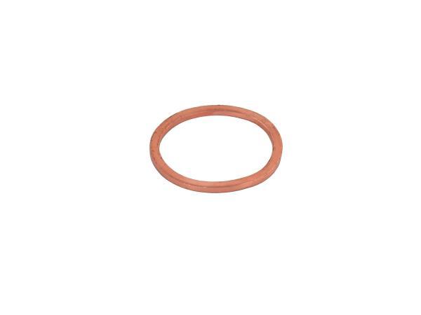 Manifold gasket Ø28x33 - Spherical cap - DIN 7603 - CU solid, soft