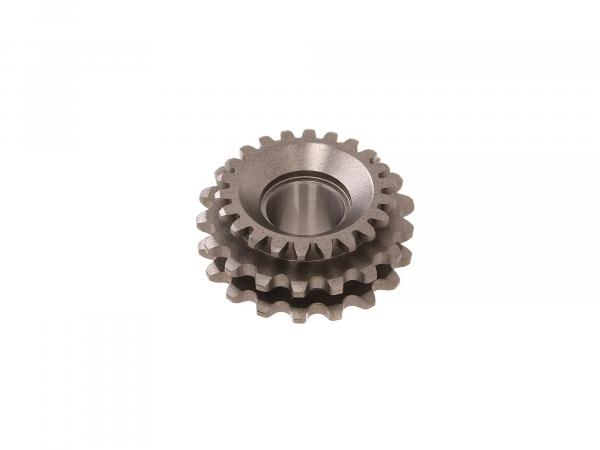 Sprocket on crankshaft for DZM