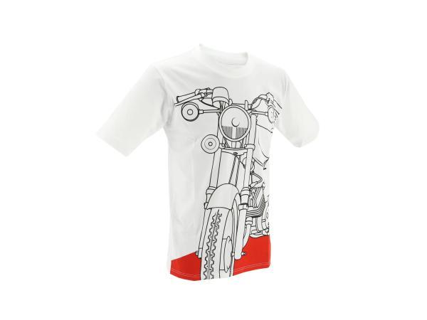 """K10000143 T-Shirt """"S51 Flammrot"""" - Weiß - Bild 1"""