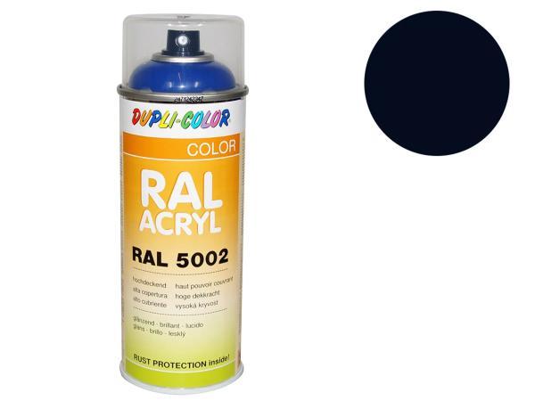 Dupli-Color Acryl-Spray RAL 5004 schwarzblau, glänzend - 400 ml