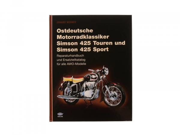 Book - East German Motorcycle Classics (AWO Sport / AWO Tours)