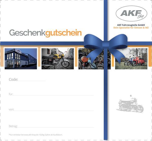 AKF Geschenkgutschein
