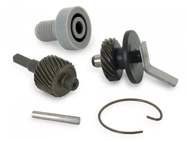 Set: Speedometer drive - 5-piece for chain pinion 13Z - Simson S50, KR51/1 Schwalbe, SR4-2 Star, SR4-3 Sperber, SR4-4 Habicht