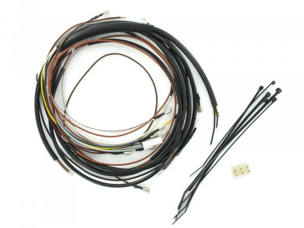Cable harness set Schwalbe KR51/1, 12V-VAPE with wiring diagram