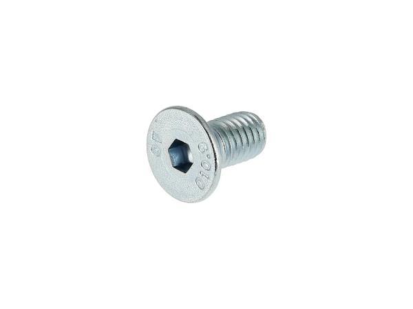 10069956 Senkschraube, Innensechskant M5x10 - DIN7991, verzinkt, Festigkeit 10.9 - Bild 1