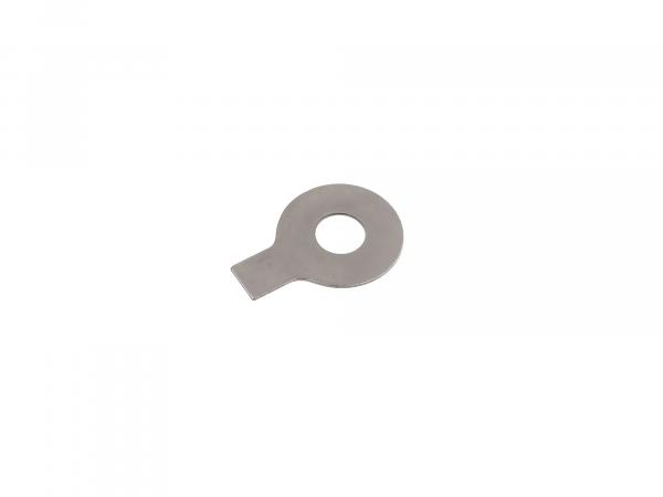 Locking plate with tab - Ø8.4 mm - for rocker pin, cylinder head - suitable for AWO 425S
