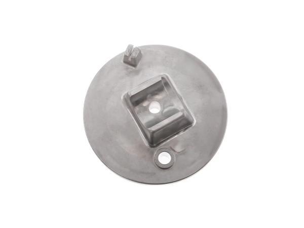 10066618 Bremsschild vorn, natur - Simson S50, S51, S70, S53, S83, SR50, SR80 - Bild 1