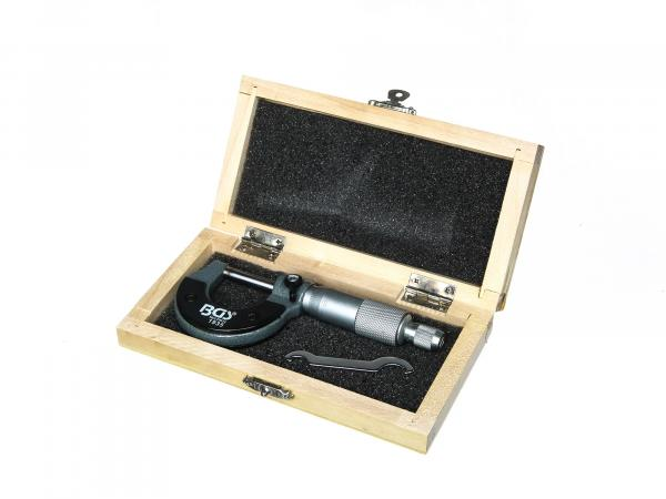 Mikrometerschraube Messbereich: 0-25mm