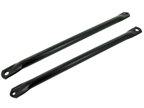 SET: Obergurtstützstreben schwarz S50, S51 - ohne Fußrastenaufnahme