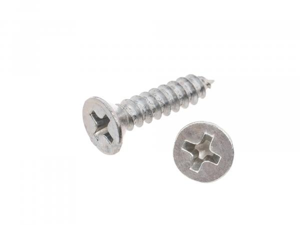 Countersunk tapping screw, cross-slotted 3.5x16 - DIN7982