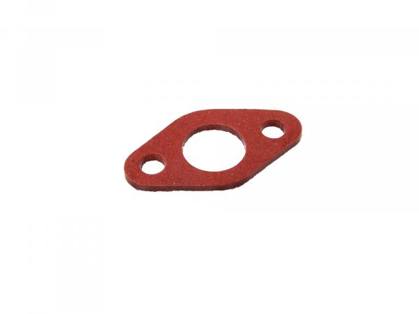 Insulating flange gasket 2mm thick, 19mm diffuser in red