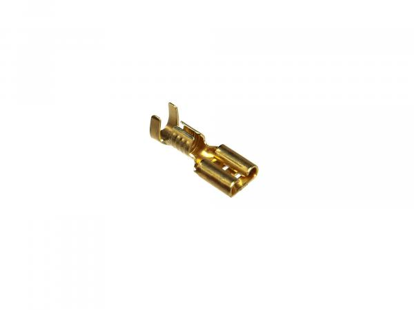 Cable lug - Flat receptacle 6,3x0,8 (2,5-6,0mm²) without insulation
