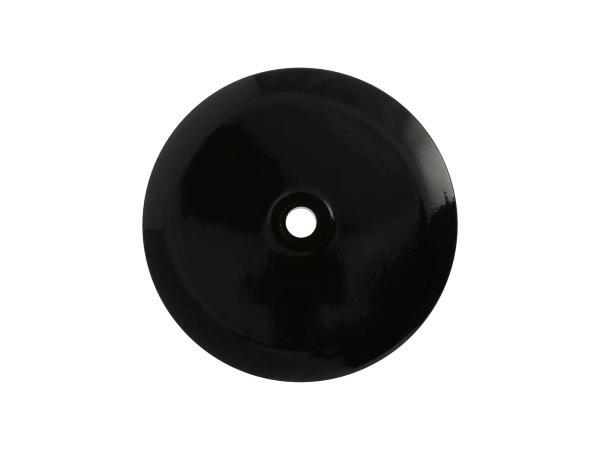 10069537 Deckel für Radnabe vorn, Aluminium, schwarz glänzend pulverbeschichtet - Bild 1