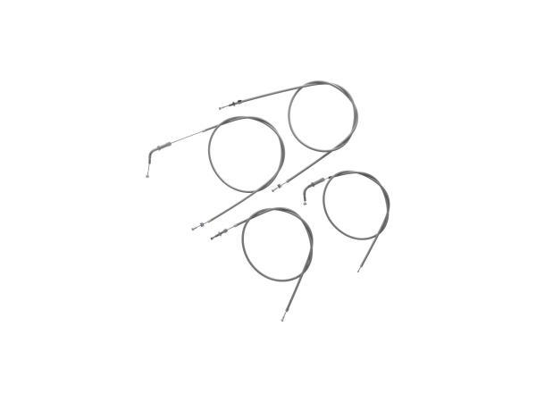 Bowdenzug-Set in Grau - Simson SR2, SR2E (ab Fahrzg. 833190)
