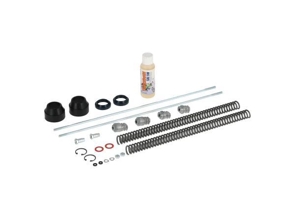10067096 Set: Telegabel Reparatur komplett, Standard Druckfeder 3,2mm - für Simson SR50, SR80 - Bild 1