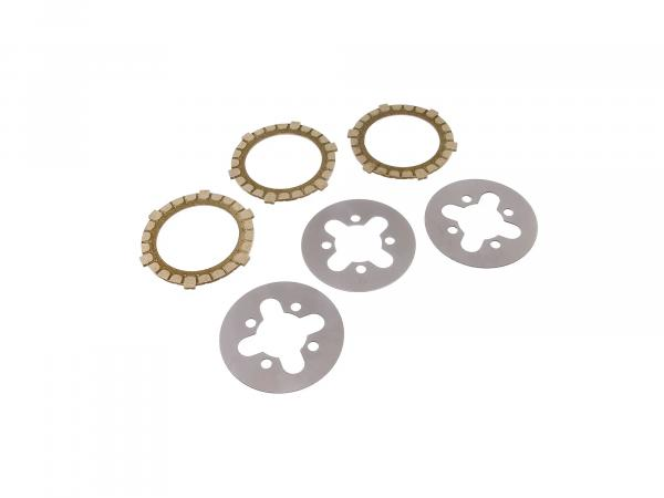 Set: clutch parts regeneration - Simson SR4-1 Spatz, SR2, KR50