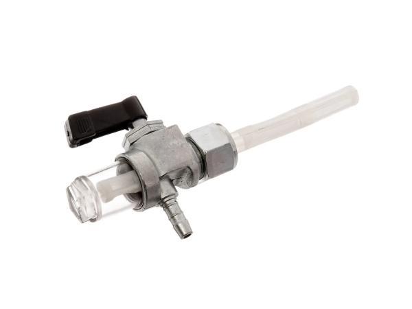 Benzinhahn mit Wassersack - für Simson S50, S51, S70, S53, S83, SR4-3 Sperber, SR4-4 Habicht - MZ ES, TS, ETS, ETZ