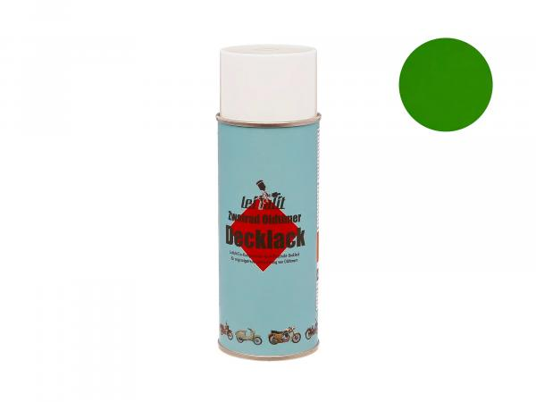 Spray can Leifalit top coat yellow green - 400ml