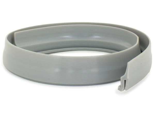 Keder am Scheinwerferhalter - PVC grau - Simson SR4-1 Spatz