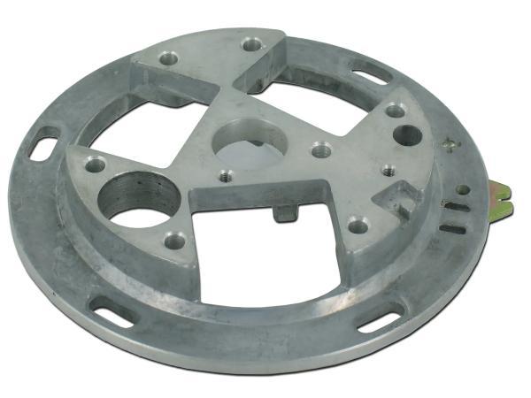 10001874 Grundplatte Unterbrecher (SLPZ) ohne Spulen - für Simson S50, S51, KR51/2 Schwalbe, SR50, SR4-3 Sperber, SR4-4 Habicht - Bild 1