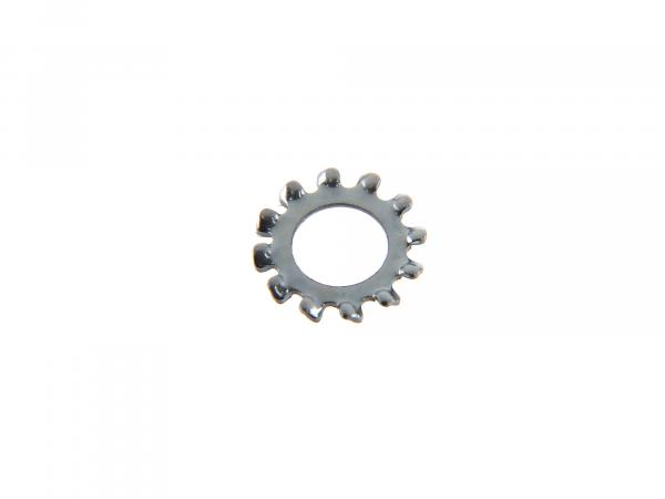 Toothed lock washer A 5.3 DIN 6797 for brake light contact Simson S51, S50, SR50, Schwalbe KR51, SR4