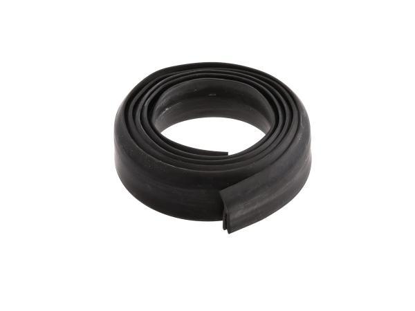 Kedergummi für Seitenbleche, 1,4m, schwarz - für IWL TR150 Troll
