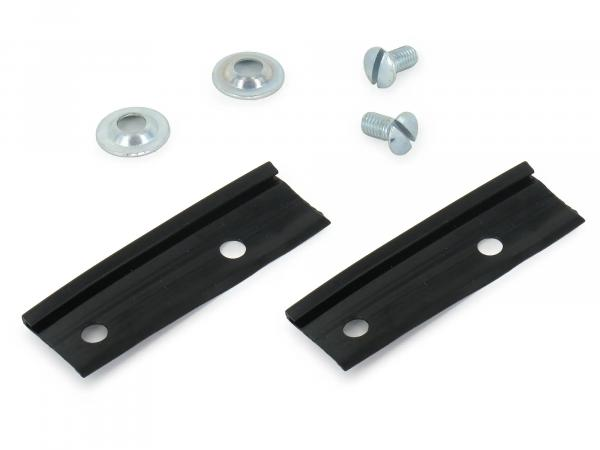 Set: Keder (black), countersunk screw and washer for handlebar shell bird series