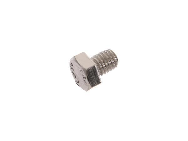 Hexagon head screw, stainless steel M8x10 - DIN933