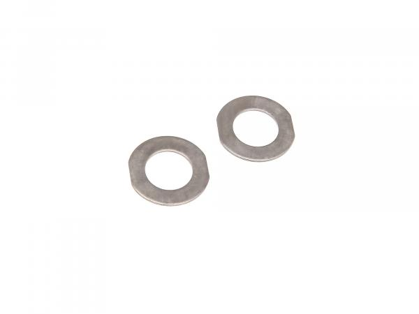 Set: 2x thrust washer 1,0 mm for piston