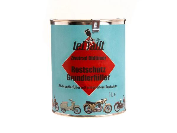 10016684 Rostschutzgrundierfüller 2K Leifalit für Lackfarbe, Hellgrau - 1Liter - Bild 1
