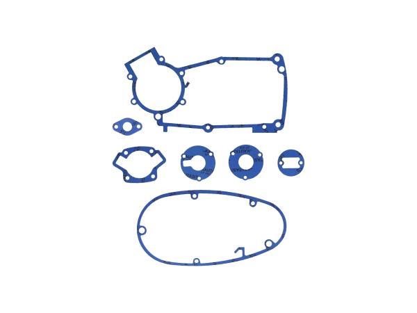GP10000573 Dichtungssatz aus Kautasit Motortyp M53/2, Flanschdichtung Ø 16mm  - für Simson S50, Schwalbe KR51/1 - Bild 1