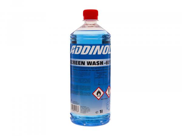 ADDINOL ScreenWash antifreeze + window cleaner, apple odour, concentrate - 1l tin