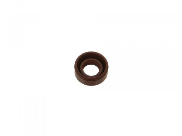 Oil seal 10x19x08, brown, dust lip