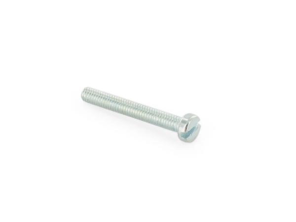 10016885 Zylinderschraube, Schlitz M4x30 - DIN84 - Bild 1
