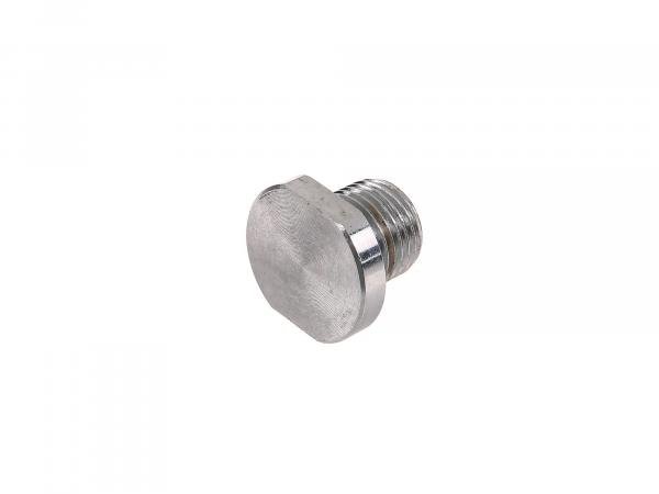 Threaded plug for shock absorber suspension/ mounting - top - suitable for MZ ES175 to ES300/ ETS250
