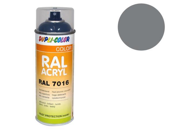 Dupli-Color Acryl-Spray RAL 7037 staubgrau, glänzend - 400 ml