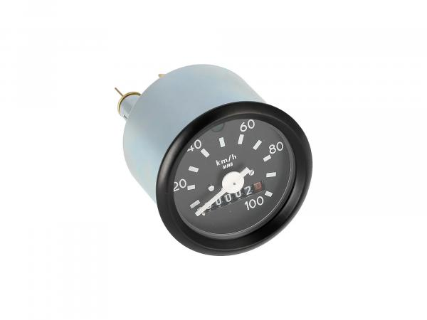 Speedometer with flash control, without logo, 100km/h version