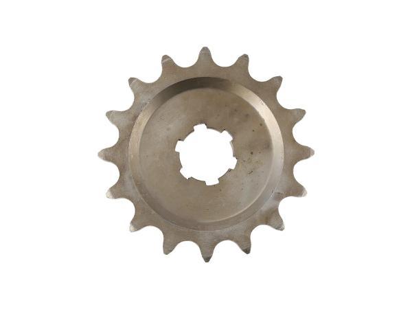 10003306 Kleines Kettenrad, 15 Zahn - für MZ ES125, ES150, TS125, TS150, RT125 - IWL SR56 Wiesel - Bild 1
