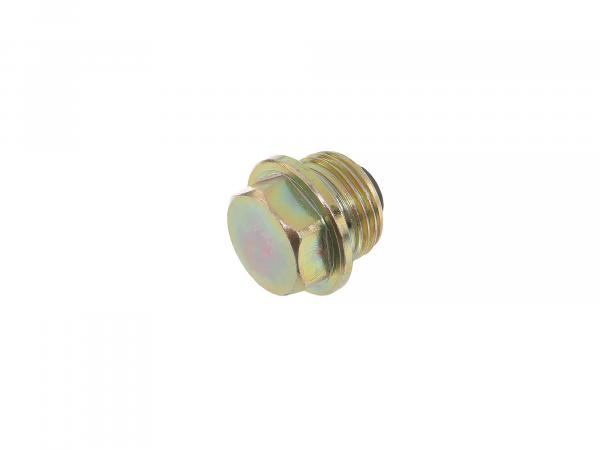Oil drain plug with magnet M18 - for MZ ES, ETS, TS, ETZ, BK - IWL TR150 Troll