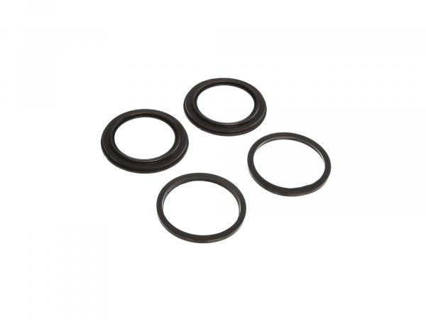 Repair kit for brake calliper (2x piston seal, 2x sleeve) - MZ ETZ125, ETZ150, ETZ250, ETZ251, ETZ301