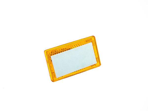 Seitenstrahler gelb 36x61 selbstklebend