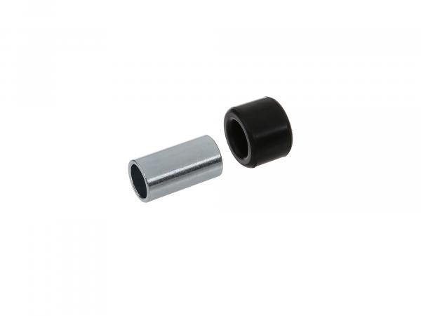Set: Swingarm bushing complete with rubber - Simson S50, S51, S70